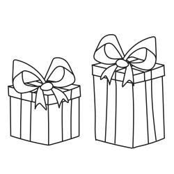 Omalovánky: Narozeninové dárky