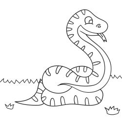 Kolorowanki: Wąż