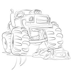 Omalovánky: Monster truck
