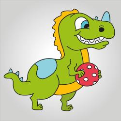 Cría de dinosaurio