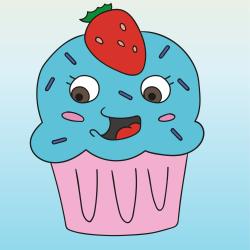 Cupcake con le fragole