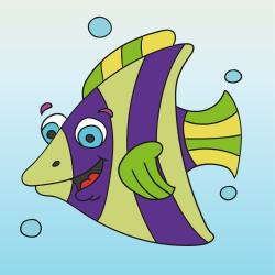 Pruhovaná ryba